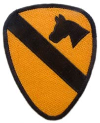 Patch-Army 1st Calvary Division