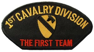 Patch-Army 1st Calvary For Cap