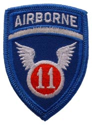 Patch-Army 11th Airborne