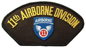 Patch-Army 11th Airborne For Cap