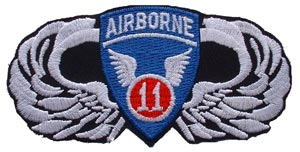 Patch-Army 11th Airborne Wings