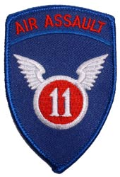 Patch-Army 11th Air Assault