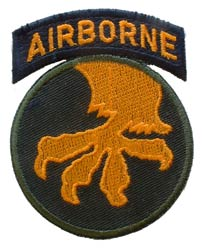 Patch-Army 17th Airborne Division