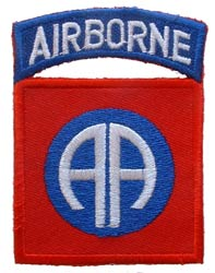 Patch-Army 82nd Airborne