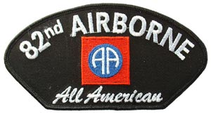 Patch-Army 82nd Airborne For Cap