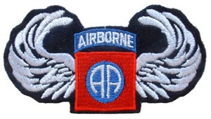 Patch-Army 82nd Airborne Wings