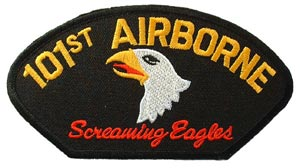 Patch-Army 101st Airborne For Cap