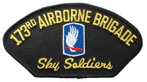 Patch-Army 173rd Airborne For Cap