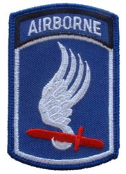Patch-Army 173rd Airborne Tab