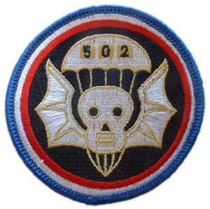 Patch-Army 502nd Airborne
