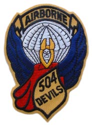 Patch-Army 504th Airborne