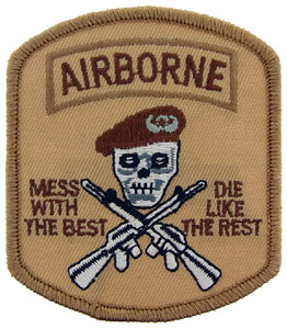 Patch-Army Mess With Best Airborne