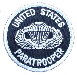 Patch-Army Paratrooper Logo