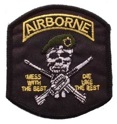 Patch-Army Airborne Mess With The Best