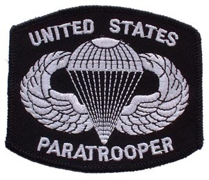 Patch-Army Paratrooper Master