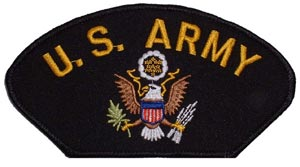 Patch- Army Logo For Cap
