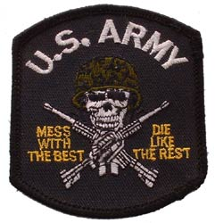 Patch-Army Mess With Best Black