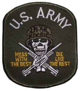 Patch-Army Mess With Best Green