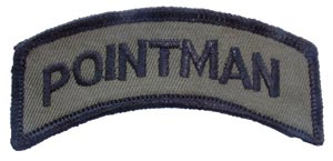 Patch-Army Pointman Subdued