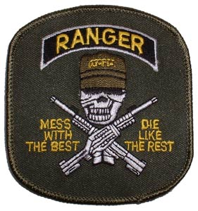Patch-Army Ranger Mess With Best Green