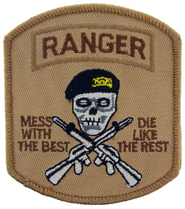 Patch-Army Ranger Mess With Best Desert