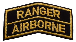 Patch-Army Airborne Ranger Tab