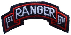 Patch-Army Ranger 1st