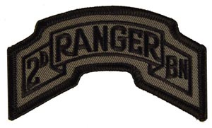Patch-Army Ranger 2nd Subdued