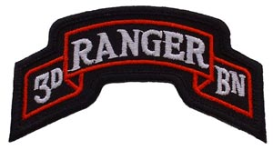 Patch-Army Ranger 3rd Tab