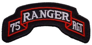 Patch-Army Ranger 75th Tab