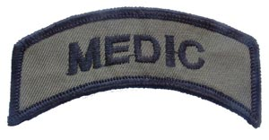 Patch-Army Medic Tab