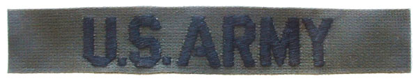 Patch-Army Tab Subdued