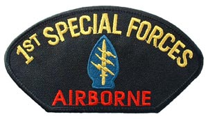 Patch-1st Special Forces For Cap