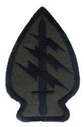 Patch-Special Forces Subdued