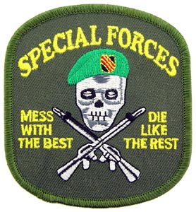 Patch-Special Forces Mess With The Best Subdued