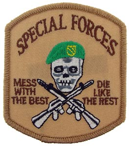 Patch-Special Forces Mess With The Best Desert