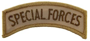 Patch-Special Forces Tab Desert