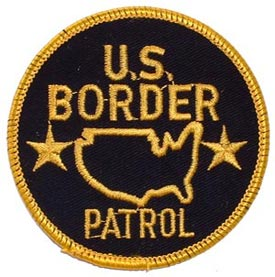 Patch-Police Border Patrol