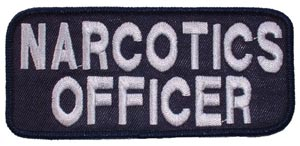 Patch-Police Narcotic Officer
