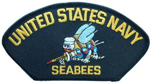 Patch-Seabees For Cap