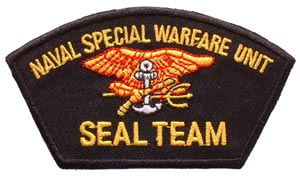 Patch-Seal Team Special Warfare Unit