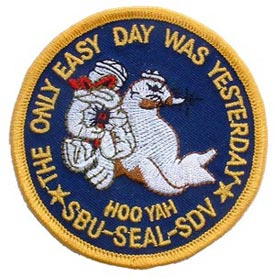 Patch-USN Seal SBU-SDV