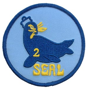 Patch-USN Seal Team 2