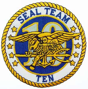 Patch-USN Seal Team 10