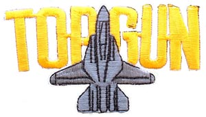 Patch-USN Top Gun Cutout