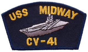 Patch-USN USS Midway
