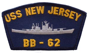 Patch-USN USS New Jersey