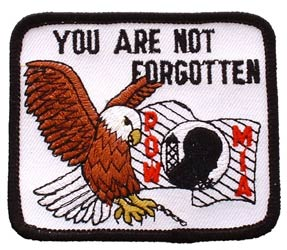 Patch-POW MIA Eagle You Are Not Forgotten