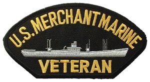 Patch-USN Merchant Marine For Cap