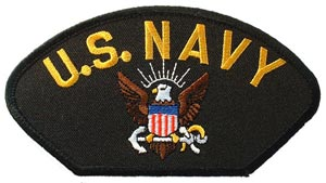 Patch-USN Logo For Cap